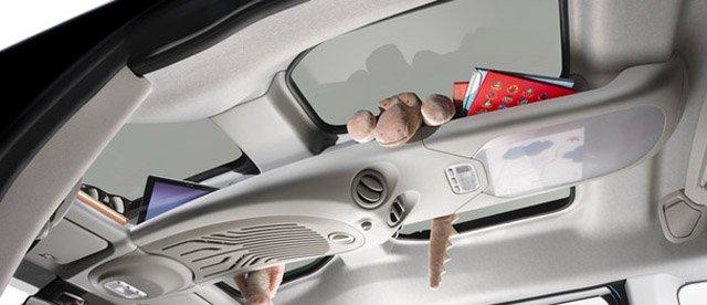 System Modutop w założeniu ułatwia poukładanie mniejszych bagaży.