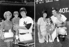 Po lewej państwo Petersonowie z synem, po prawej – Kekichowie z córkami.