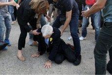 75-letni burmistrz  Salonik - Janis Butaris, został dotkliwie pobity na miejskich obchodach.