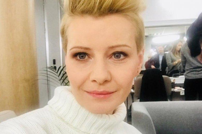 Aktorka napisała o sprawie w poście na fanpage'u.