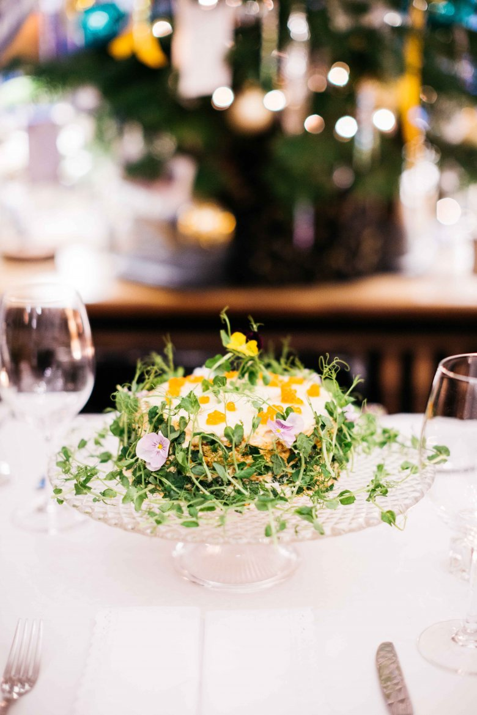 Blińczyk z łososiem i warzywami wg Lary Gessler