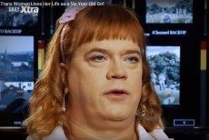 Stefonknee Wolschtt, transseksualista udający 6-letnią dziewczynkę.