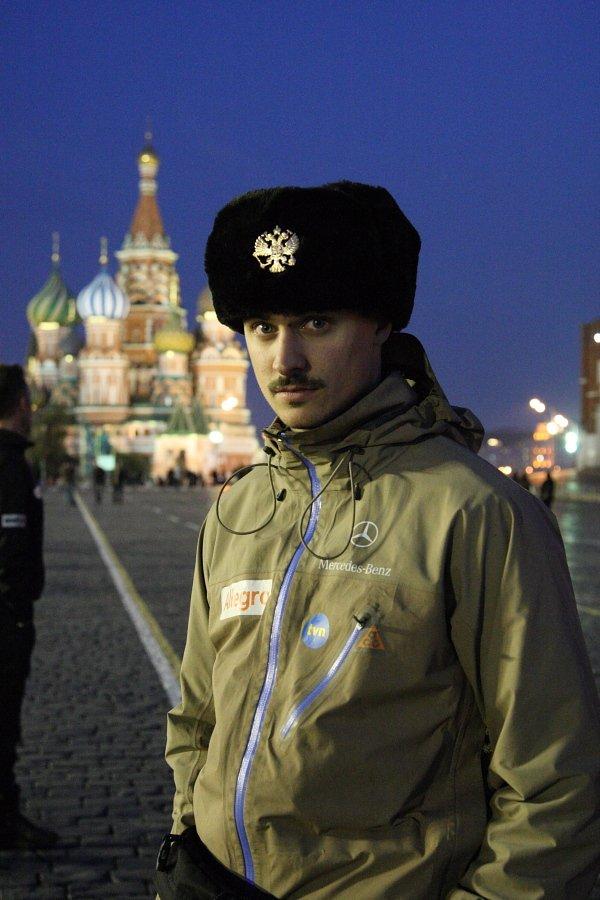 A ja idu, szagaju pa Maskwie...