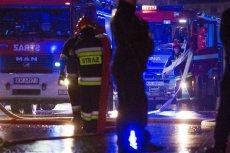 Płonie centrum handlowe w Żarach w Lubuskiem. (zdjęcie poglądowe)