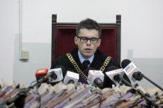 Sędzia Igor Tuleya podczas ogłaszania wyroku ws. doktora Mirosława G.