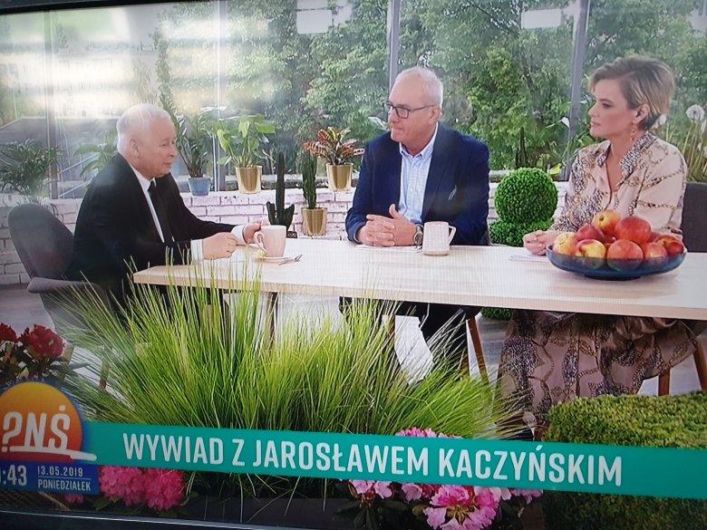 "Kaczyński o przyjaciołach w ""Pytaniu na Śniadanie"" TVP2"