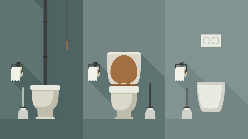 Toalety do wyboru, do koloru