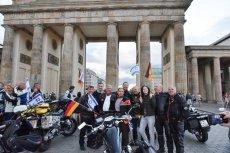 Podczas igrzysk w Berlinie – flagi niemieckie i izraelskie