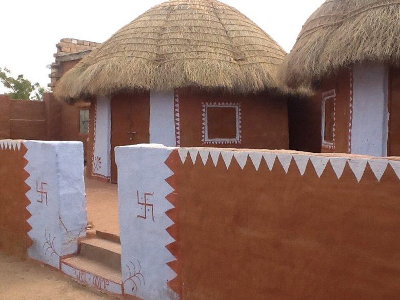 Homestay w wiosce Salawas na skraju pustyni, Rajastan, Indie