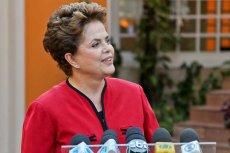 65-letnia prezydent Brazylii uciekła ochronie na motocyklu.