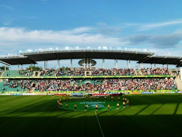 Na tym stadionie (A.Le Coq Arena) zostaną rozegrane kluczowe mecze Euro U-19