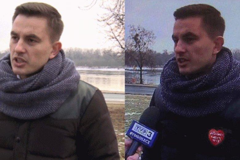 """Tak wyglądała różnica między prawdą, a tym co pokazały """"Wiadomości"""" TVP."""