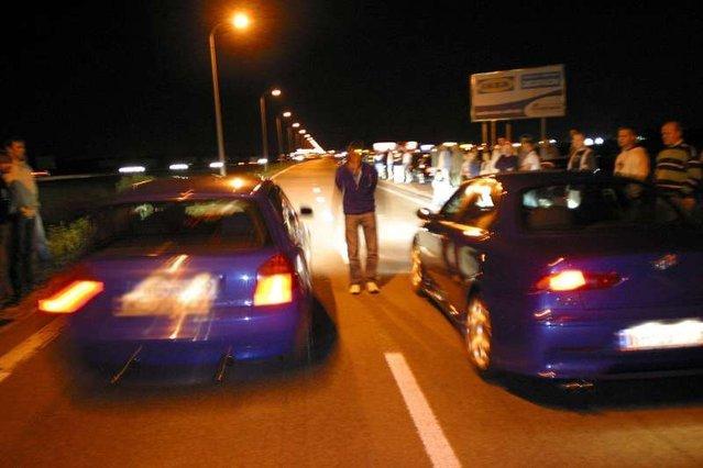 Z nielegalnymi wyścigami walczy policja
