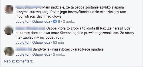Komentarze mieszkańców Sycowa.