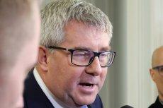 Ryszard Czarnecki komentuje odwołanie z funkcji wiceprzewodniczącego Parlamentu Europejskiego