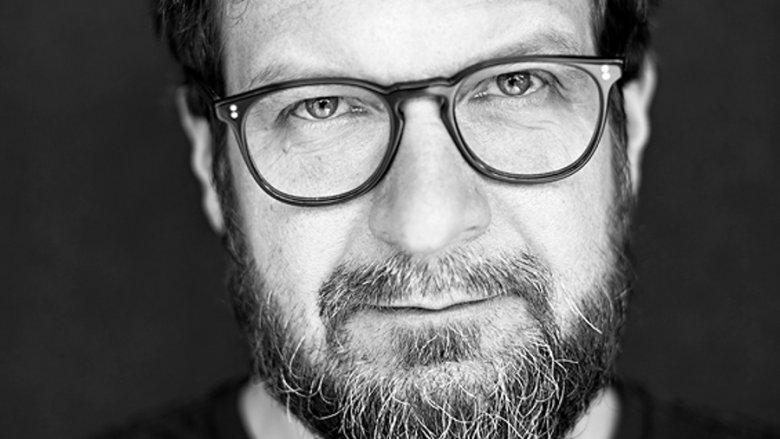 """Wojciech Cieśla, współautor tekstu o farmie trolli, który ukazał się w """"Newsweeku""""."""
