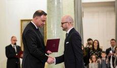 W poniedziałek 20 stycznia Dariusz Lasocki odebrał od prezydenta Andrzeja Dudy nominację na członka Państwowej Komisji Wyborczej.