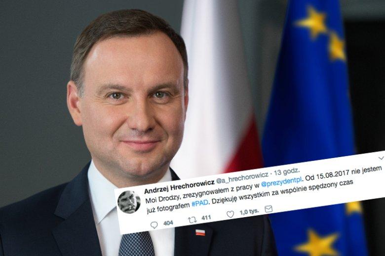 Andrzej Duda stracił nadwornego fotografa.