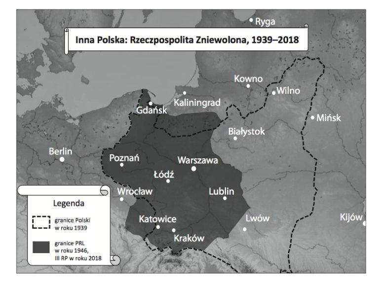 Opracowana na bazie modelu ekonomicznego mapa Polski, gdyby ta była jednym z Państw Osi i sojusznikiem III Rzeszy w II wojnie światowej