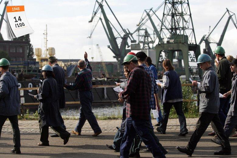 Stocznia Gdańska to zakład o symbolicznym znaczeniu dla współczesnej Polski
