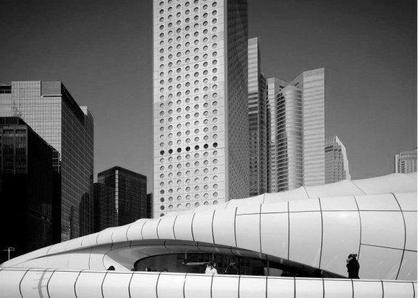 Pawilon Chanel zaprojektowany przez Zahę Hadid.