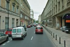 Ulica Mazowiecka w Warszawie, na której doszło do incydentu.