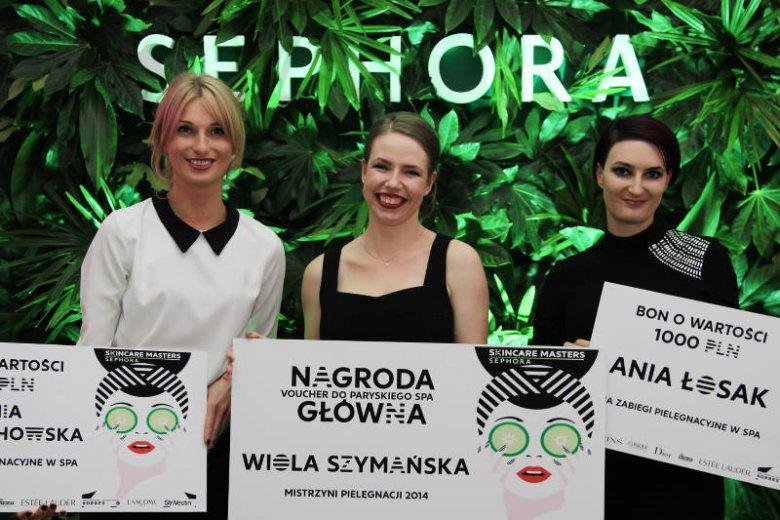 Wszystkie trzy laureatki Skincare Masters