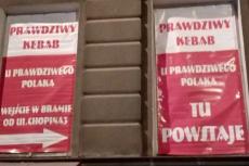 To nie film.. W Lublinie działa patriotyczny kebab.