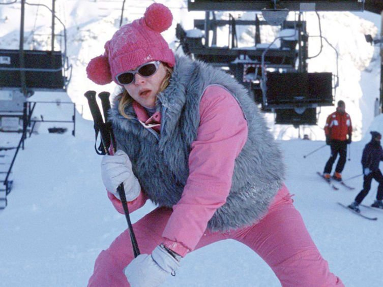 Bridget Jones na nartach