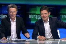 Andrzej Twarowski (po lewej) i Tomasz Smokowski (po prawej) to była legendarna para komentatorów w Canal+. Wkrótce ten drugi wróci do telewizji – ma komentować mecze w Polsacie.