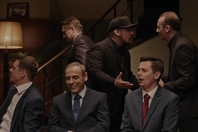 Prezes miał w ostatnim odcinku wielu nietypowych gości.