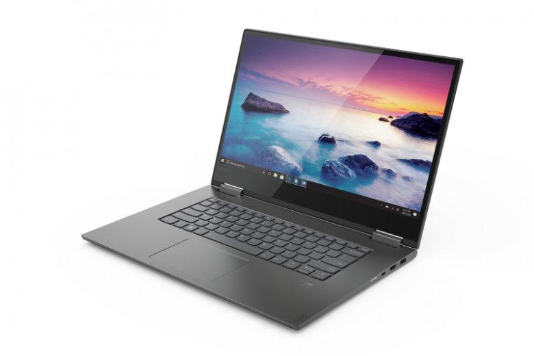 Laptop Yoga 730 powstał, aby zapewnić multimedialną rozrywkę na wysokim poziomie