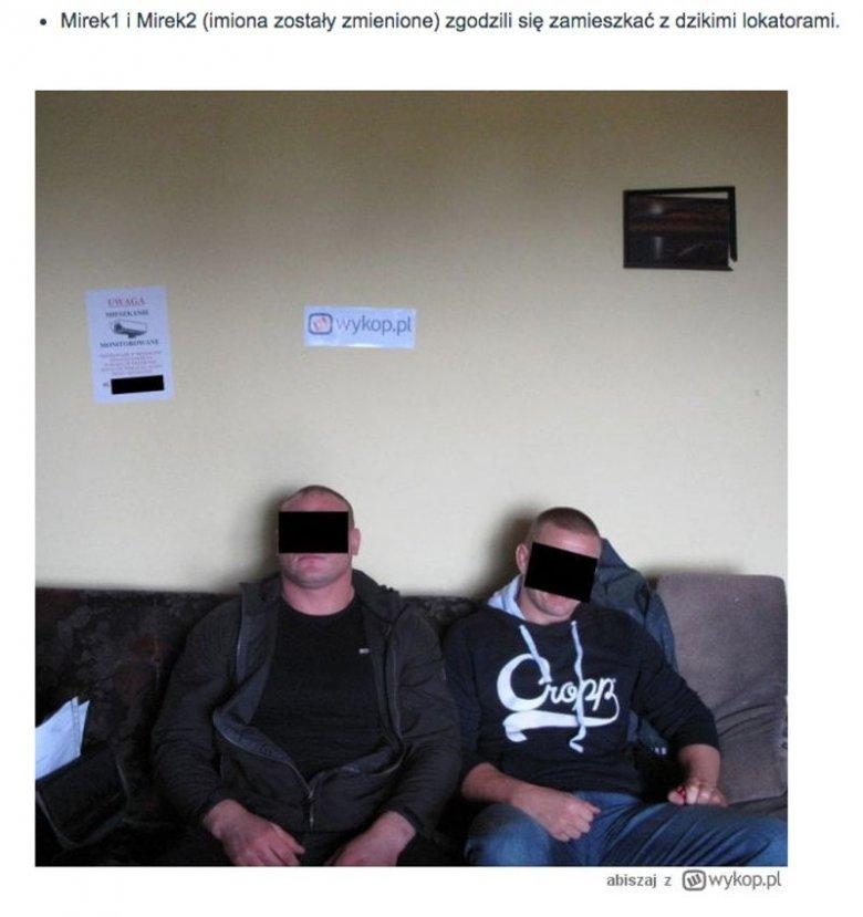 """""""Dzicy lokatorzy"""" opuścili mieszkanie po wprowadzeniu się dodatkowych mieszkańców."""