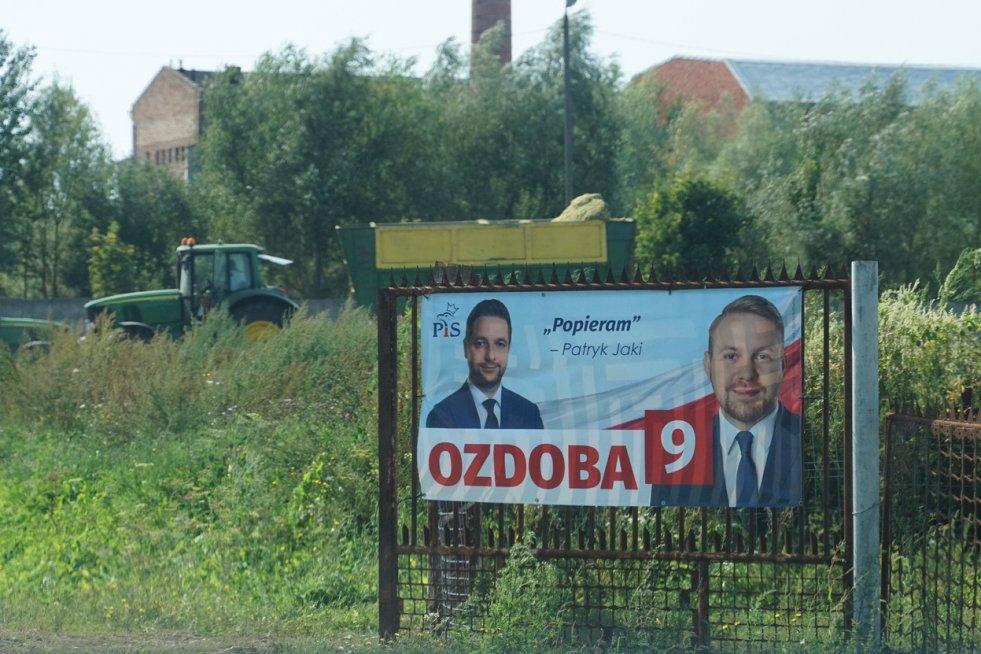 Kampania Wyborcza Plakaty Wyborcze Pis Już Są Opozycji Nie