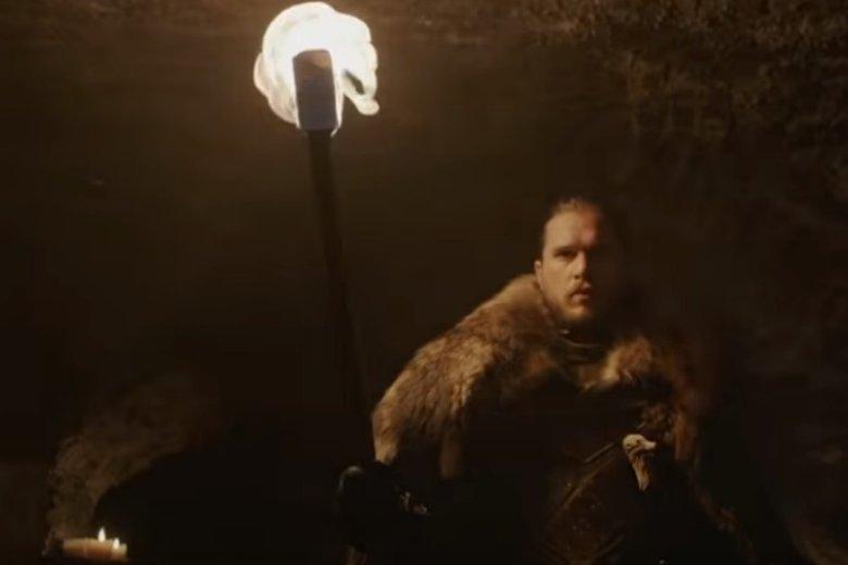 """Kadr z zapowiedzi ósmego sezonu """"Gry o tron"""""""