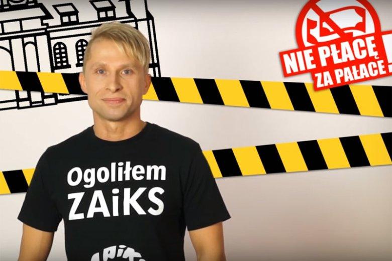 """W sieci powstała strona """"Nie płacę za pałace"""" zainicjowana przez producentów sprzętu i fryzjera z Wałbrzycha, któremu w sporze z ZAiKS-em sąd przyznał rację, że celem wizyty w jego zakładzie nie jest słuchanie radia."""