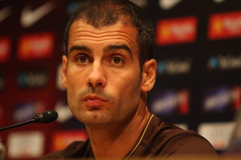 Josep Guardiola dzisiaj stanie przed pierwszym poważnym sprawdzianem w tej edycji Ligi Mistrzów