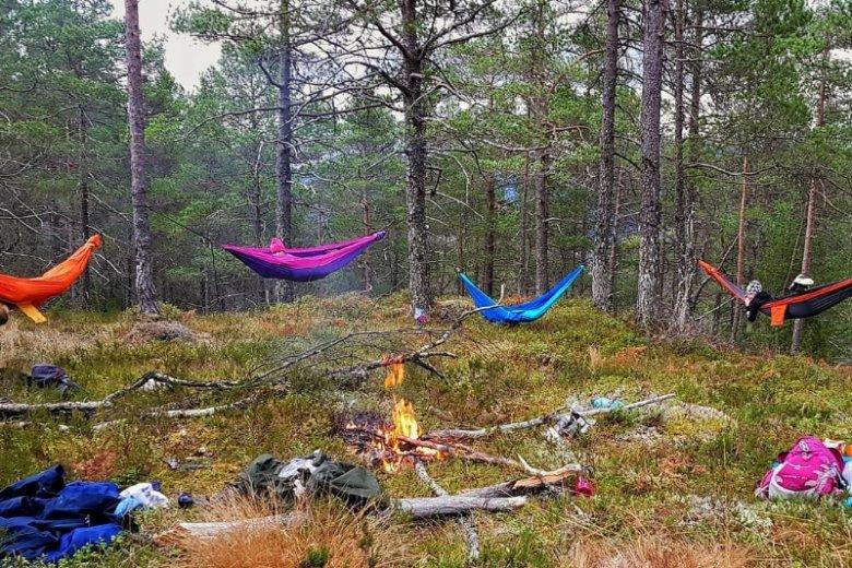 Czas spędzany na łonie natury to dla Skandynawów wielka wartość. Elementem Friluftsliv są m.in wycieczki czy biwaki, na których ludzie radzą sobie bez zdobyczy nowoczesnej technologii
