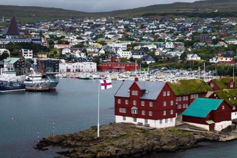 Thorshavn to urocze miasto, pełne kolorowych domków