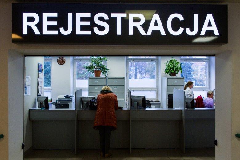 Rejestracja do lekarza to miejsce, gdzie dochodzi do wielu konfliktowych sytuacji. Nawet jeśli jest prowadzona bardzo profesjonalnie. Zdjęcie jest tylko ilustracją do tekstu.