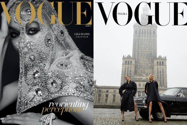 Vogue Polska i Vogue Arabia to dwie najświeższe edycje magazynu. Obie, choć w różny sposób, nawiązują do krajowej kultury