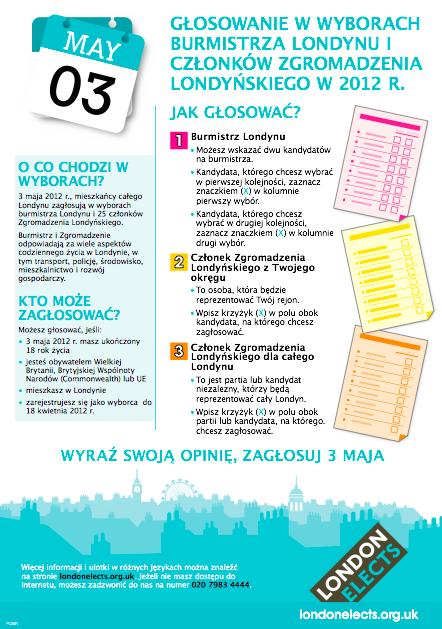 Ulotka informacyjna dla Polaków
