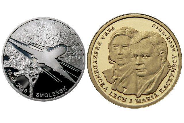 Nie uroda numizmatu, ani nakład, ale towarzysząca im historia podbija wartość monet upamiętniających katastrofę