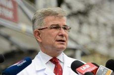 Prof. Marek Durlik, były dyrektor Centralnego Szpitala Klinicznego MSWiA w Warszawie.