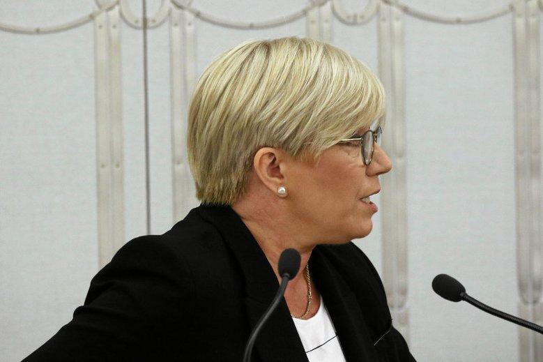 Prezes Trybunału Konstytucyjnego Julia Przyłębska nawet nie zachowuje pozorów, że jest sędzią apolitycznym.