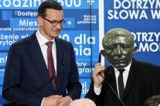 """W kontekście """"taśm Kaczyńskiego"""" premier Morawiecki porównał prezesa PiS do starożytnego Katona."""