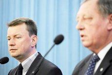 MSWiA postanowiło ratować sytuację po tym , jak minister Szyszko wręczył kopertę swojemu koledze z rządu.