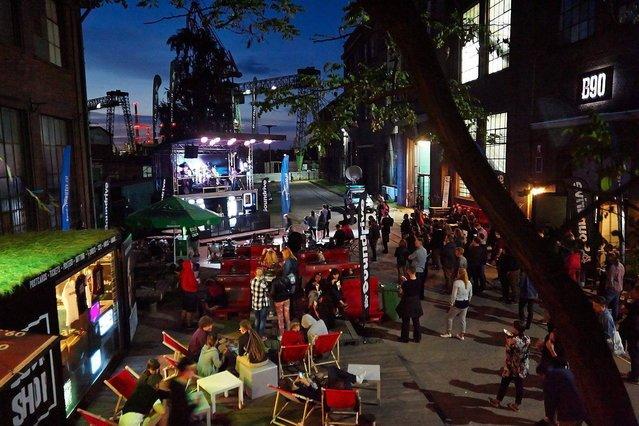 B90 organizuje m.in. festiwal Soundrive. Zdjęcie z jednej z edycji