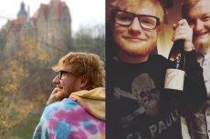 Edowi Sheeranami naprawdę się podoba w Polsce. Muzyk był w wielu miejscach