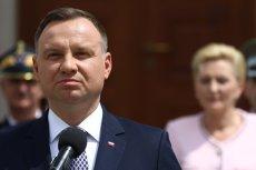 """Andrzej Duda poskarżył się na TVP za to, że w """"Wiadomościach"""" nie było materiału o referendum konsultacyjnym ws. konstytucji"""